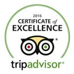 2016 Certificate of Excellence tripadvisor