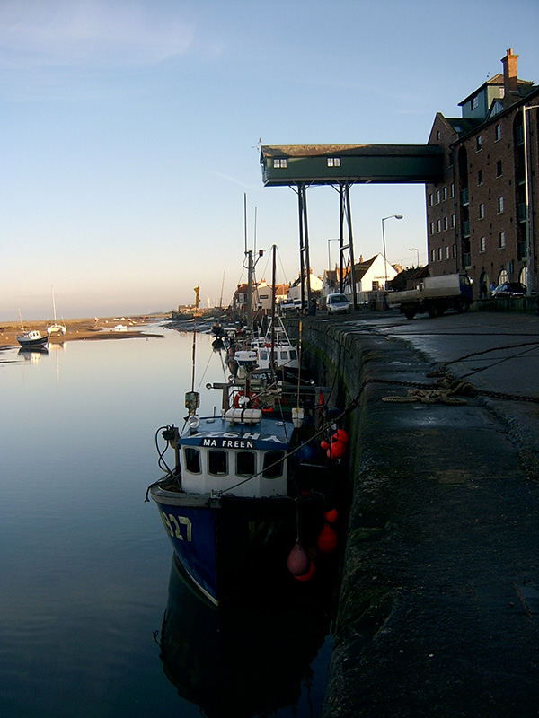 Wells Quay at sunset