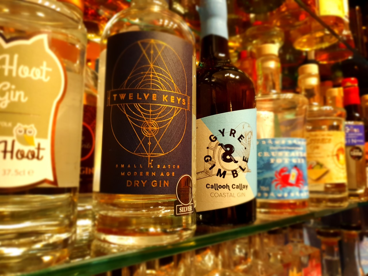 Selection of Gins