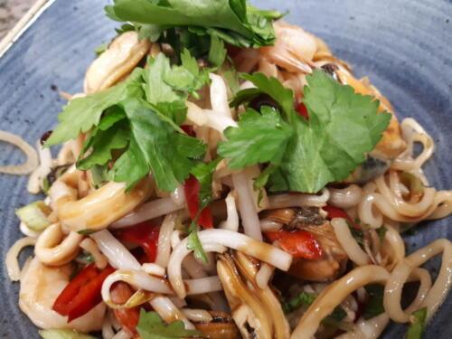 Seafood Noodle Salad